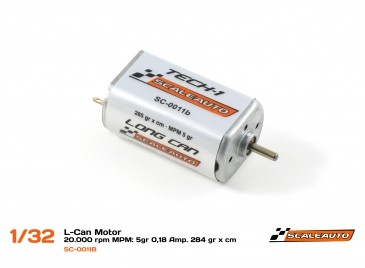 Scaleauto Motor 20000 RPM Long Can