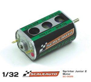 Motor, Scaleauto, Sprinter Junior-2 22500 rpm caixa grande