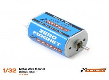 Scaleauto Motor Zero Magnet 23,000 rpm Caixa Grande