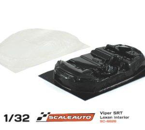 Cockpit em lexan Scaleauto SRT Viper GTS-R