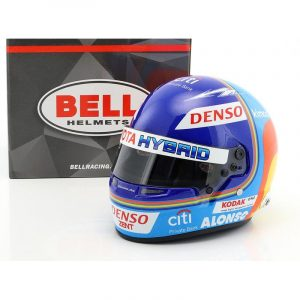 Mini Helmet F. Alonso – Le Mans 2018 – Escala 1/2