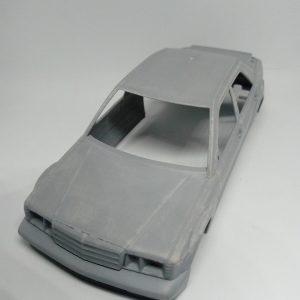 Carroçaria & Chassis 3D Mercedes 190 DTM – Area71 – Escala 1/32