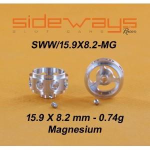 Jantes de Magnésio 15.9×8.2mm