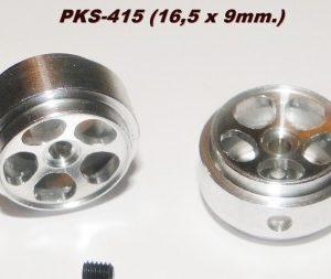 Jantes de alumínio PKS 16.5x9mm