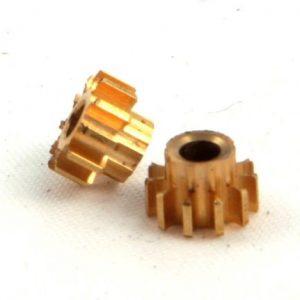 Pinhão, NSR, Inline em latão 5.5mm diãmetro 11 dentes