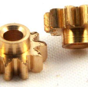 Pinhão, NSR, Sidewinder em latão 6.5mm diâmetro 10 dentes
