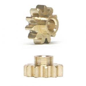 Pinhão, NSR, Sidewinder em latão 6.5mm diâmetro 11 dentes