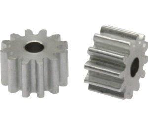 Pinhão, Scaleauto, alumínio 11d. M50 para Eixos 2.38mm de 7.25mm