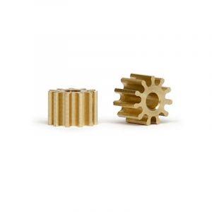 Pinhão, Slot.it, Inline em latão 11z 6mm diâmetro