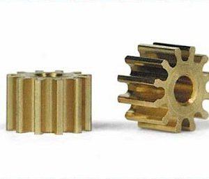 Pinhão, Slot.it, em latão 12z 6.5mm diâmetro