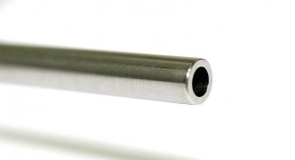 """Eixo perfurado em aço calibrado e temperado 50mm 3/32"""""""