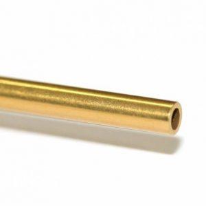 Eixo oco de TITÂNIO 60 x 2.38 mm. (3/32″)