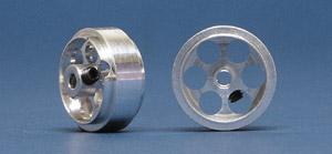 Jantes, NSR, em alumínio aligeiradas 17x8mm (x 2)