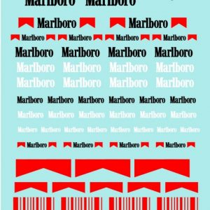 Decalque, Atalaya Decals, Marlboro 1/32