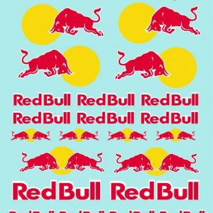 Decalque, Atalaya Decals, Red Bull 1/32