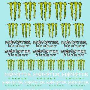 Decalque, Atalaya Decals, Monster 1/32