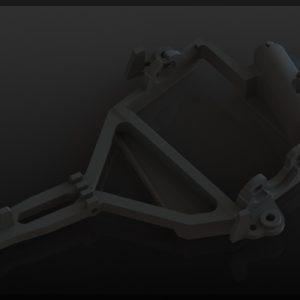 Suporte motor, Black Arrow, AW V2.0 preto