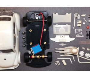 Kit branco, BRM, completo do Fiat Abarth 1000 TCR