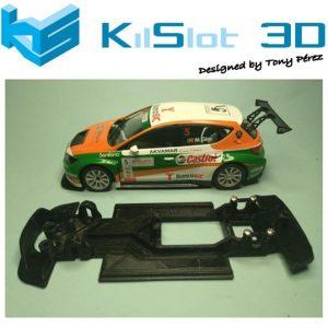 Chassis, Kilslot, lineal race soft  Seat Leon 3 SCX