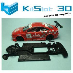 Chassis, Kilslot, Lineal race soft Peugeot 406 Spirit