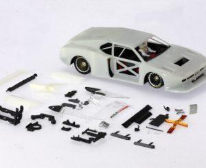 BMW, Sideways, M1 Schnitzer Grupo 5 Racing Kit branco