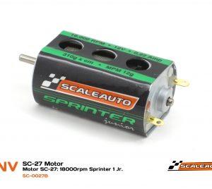 Motor, Scaleauto, sprinter 1 Jr 18000 rpm