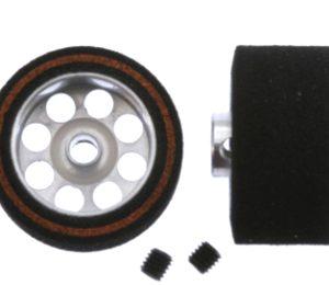 Roda de espuma, Scaleauto, 20.5x11mm. Procomp-3 para eixo 3mm. Jante ø15mm