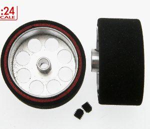 Roda de espuma, Scaleauto, 25.5x13mm Procomp-3 para eixo 3mm.. Jante ø21mm
