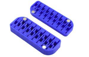 Caixa 3DP, Scaleauto, para 17 cremalheiras Sidewinder 1/32 18 & 19mm