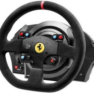 Volante Thrustmaster T300 Ferrari Alcântara Edition – PS5/PS4/PS3/PC