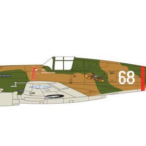 Avião, Airfix, Curtiss Hawk 81-A-2 1:72