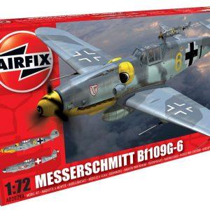 Avião, Airfix, Messerschmitt BF109G-6 escala 1/72