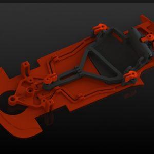 Chassis, Black Arrow, AW 2015 GT3 Italia laranja