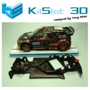 Chassis, Kilslot, angular race soft 2018 Citröen DS3 WRC SCX