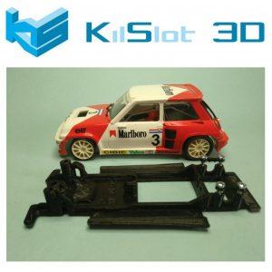 Chassis, Kilslot, lineal black Renault R5 Maxi Turbo Spirit