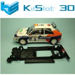 Chassis, Kilslot, lineal black Lancia Delta Integrale SCX