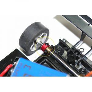 Stoppers, PSP, em duralumínio para eixos 2.38mm (3/32″)