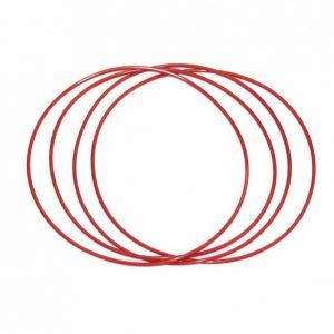 Correia de transmissão vermelha Sloting+ 1 x 58mm