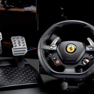 Volante Thrustmaster T80 Ferrari 488 GTB Edition PS5/PS4/PC