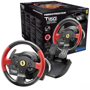 Volante Thrustmaster T150 Ferrari Edition Force Feedback PS5/PS4/PS3/PC