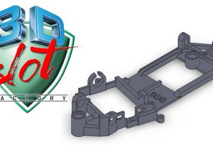 Chassis, 3DSlot,  anglewinder De Tomaso Pantera MSC