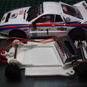 Chassis, Kilslot, anglewinder Lancia 037 Ninco