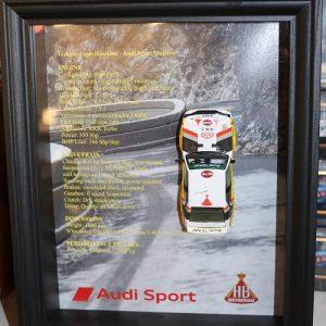 Quadro 20×25 cm – Legend Series – Audi Quattro Sport