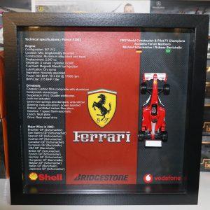 Quadro 25×25 cm – Winner Series – Ferrari F2002
