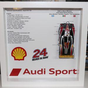 Quadro 25×25 cm – Winner Series – Audi R10 TDI