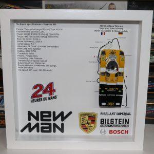 Quadro 25×25 cm – Winner Series – Porsche 956
