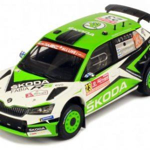 Skoda Fabia R5 Evo #23 Rally de Portugal 2019 K.Rovanpera / J.Halttunen – Escala 1/43