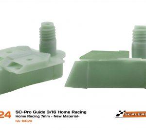 Guia, Scaleauto, SC-Pro 3/16 Home Racing (7mm profundidade) – Novo material