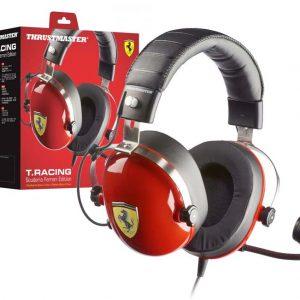 Bundle Volante + Headset Thrustmaster Scuderia Ferrari F1 Race Kit PS4/Xbox One/PS3/PC