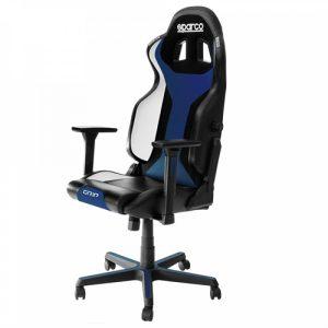 Cadeira Gaming Sparco Grip Preta/Azul 2019
